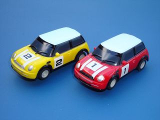 Pair of Micro Scalextric Mini Cars Loads More Cars for Sale