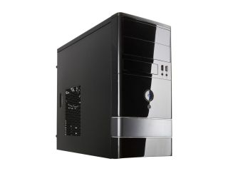 FBM 01 Dual Fans MicroATX Mini Tower Black Computer Case