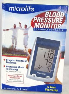 Microlife Portable Blood Pressure Monitor 3MQ1