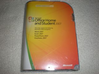 Microsoft Office Home and Student 2007 Full Version w Product Key
