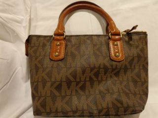 Michael Kohrs Brown Signature Handbag