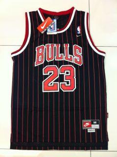 Michael Jordan Chicago Bulls 23 Swingman Alternate Black Away Jersey