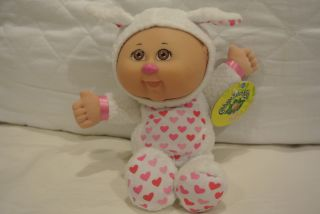 Cabbage Patch Kids Cuties Mignon Plush 9 White Bunny Doll