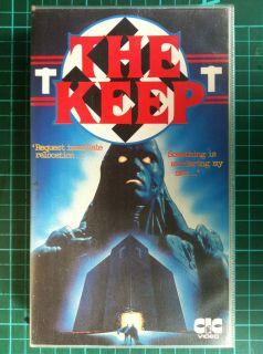 rare VHS video cult 80s Nazi monster hunter horror Michael Mann no DVD