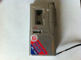 Sony Microcassette Recorder Micro Cassette M 645V