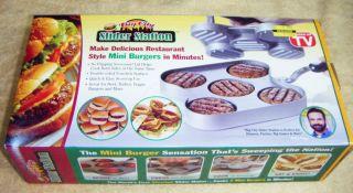 Big City Slider Station Makes Restaurant Mini Burgers
