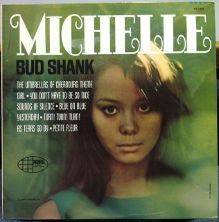 Bud Shank Chet Baker Michelle LP VG WP 1840 Mono Jazz 1966 Record