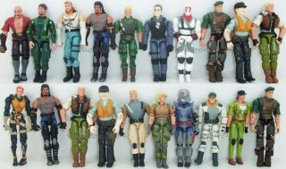 20 x Gi Joe Cobra 3 75 Action Figure Military w Weapons Toy Gift