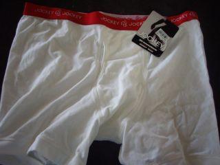 Jockey White Stretch Midway Brief Size XL