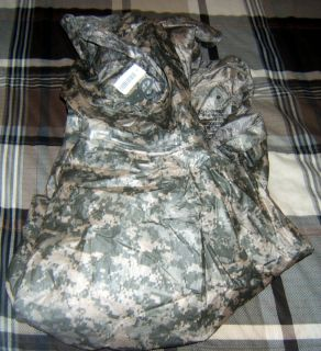 New U s Army Poncho Wet Weather with Liner Universal Size