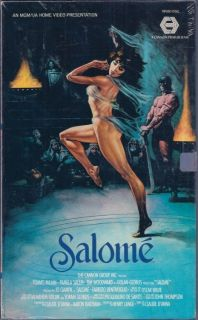 Salome VHS Cannon Films MGM UA Video Pamela Salem Tomas Milian