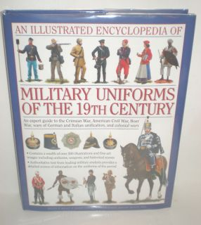 Military Book 19th Century Uniforms 10 New IP $35 0754819019