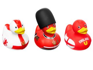 Bud England Mini Duck Collection Set of 3