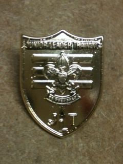 Boy Scouts Eagle DISCONTINUED Junior Leader Training Lapel and Hat Pin