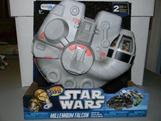 Mighty Beanz Star Wars Millennium Falcon Collector Case Toys R Us
