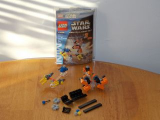 Lego Star Wars Mini Building Set 4485 Sebulbas and Anakins Podracer