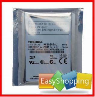 ZIF 60GB Dell Mini 12 Laptop Hard Drive 60 GB HDD