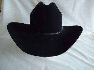 HEDEMAN SIGNATURE SERIES 5X Cowboy Western MILANO HAT 7 3 8 w BAND USA