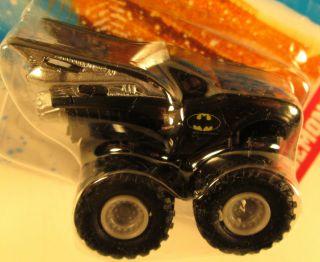 Mini Monster Jam Speed Demons Batmobile 4x4 Truck Hot Wheels RARE