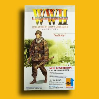12 Dragon Models WWII German army VOLKER Dragon military action figure