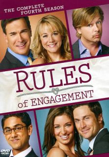 Rules of Engagement The Complete Fourth Season DVD, 2011, 2 Disc Set