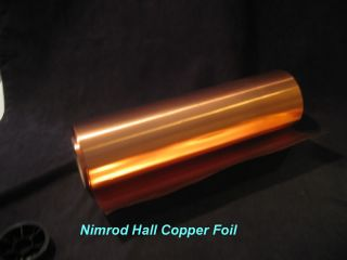 Nimrod Hall Copper Foil Sheet 10 Mil x 6 x 4