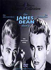 The James Dean Story DVD, 1999, 2 Disc Set, Extra DVD   James Dean A