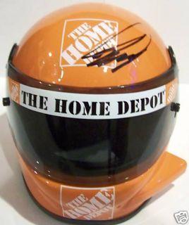 Joey Logano Autographed NASCAR Riddell Mini Helmet COA
