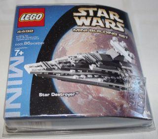 Lego 4492 Star Wars Mini Building Set Star Destroyer Complete 2004
