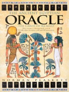 The Ancient Egyptian Oracle The Cards of Ra Maat by Carlton Books
