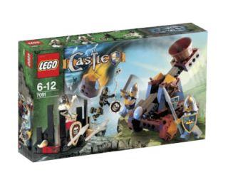 Lego Castle Knights Catapult Defense 7091