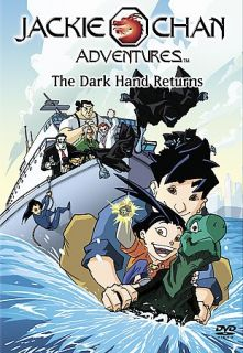 Jackie Chan Adventures The Dark Hand Returns DVD, 2002