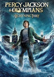 Percy Jackson the Olympians The Lightning Thief DVD, 2010