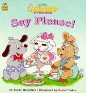 Say Please  Shari Lewis Baby Lamb Cho