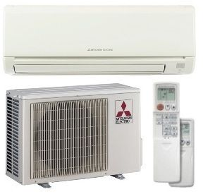 SEER Mitsubishi Single Zone Mini Split Air Conditioner System