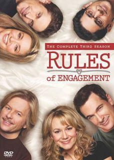 Rules of Engagement The Complete Third Season DVD, 2010, 2 Disc Set