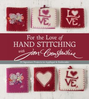 For the Love of Hand Stitching with Jan Constantine 20 Signature