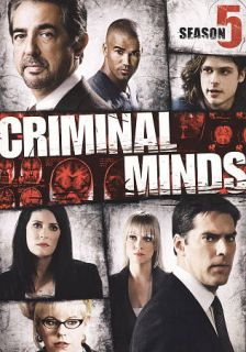 Criminal Minds Season 5 DVD, 2010, 6 Disc Set