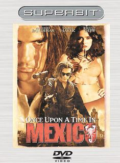 Once Upon a Time in Mexico DVD, 2004, Superbit