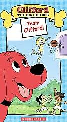 Clifford the Big Red Dog   Team Clifford (VHS, 2004) (VHS, 2004)