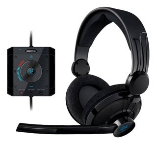 Razer MEGALODON Black Headband Headsets for PC