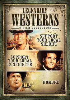 Legendary Westerns   3 Pack DVD, 2008, 3 Disc Set, Checkpoint