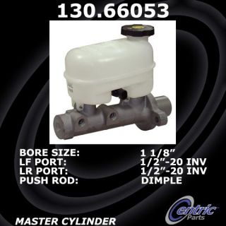 Centric Parts 130.66053 Brake Master Cylinder
