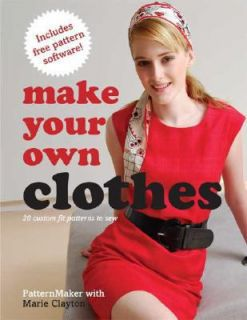 20 Custom Fit Patterns to Sew by Marie Clayton 2008, Paperback