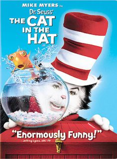 Dr. Seuss The Cat in the Hat DVD, 2004, Widescreen Edition