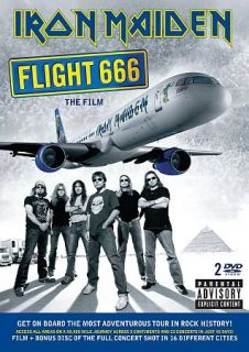 Iron Maiden   Flight 666 The Film DVD, 2009, 2 Disc Set, Limited