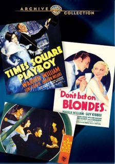 Bet on Blondes The Woman from Monte Carlo DVD, 2011, 3 Disc Set