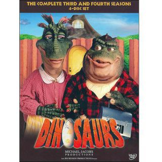 Dinosaurs   The Complete Third and Fourth Seasons DVD, 4 Disc Set