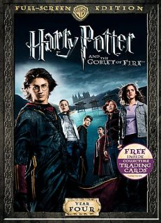 Harry Potter and the Goblet of Fire DVD, 2007, Full Frame Includes