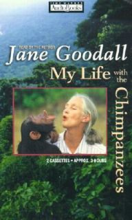 My Life with the Chimpanzees by Jane Goodall 2001, Cassette, Abridged